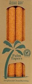 Coconut Wax Taper - Orange