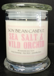 This is a lovely floral scent with a tang of the ocean.