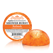 Rejuvenate with uplifting Grapefruit & Lavender. Grapefruit essential oil has a bright, citrusy aroma. Energizing and uplifting, Grapefruit has a stimulating effect on the mind while working as a powerful antioxidant. Lavender essential oil has a sweet, herbal aroma with soft underlying florals. Lavender has calming, rejuvenating effects and is an amazing natural antiseptic and antibiotic.