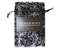 This Sachet holds the Shower Burst to allow you to get the optimal usage.  Holds it out of the constant spray of water.  Easy to hang on shower knob or spout.