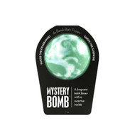 A fragrant bath fizzer with a surprise inside  Life is full of mysteries. Here's a fizzy one. Hold it in your hand as it dissolves, because there's a fun surprise inside! This could be a small toy, charm, figurine, key chain or other item that coordinates with the name of the bomb itself. Perfect for adults and kids alike. (Everyone loves surprises.)  Warning: Small parts. Not for children under 3.