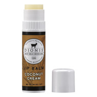 Our new flavor has notes of sweet, creamy Coconut with Confectioner's Sugar and Vanilla Bean topped off with a hint of buttery pie crust.   Infused with nourishing goat milk which helps with moisture retention. Vitamin E and shea butter help to heal lips and improve appearance.