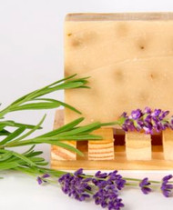 Soaps made with milk have the pH closest to that of our own our skin, making it the most gentle of soaps. In its unique ability to moisturize, nourish and retain its goodness, goat milk is truly a pure and natural beauty aid. Goat milk soaps are often prescribed for people with skin conditions such as eczema and psoriasis.  INGREDIENTS: soap base (goat milk, olive oil, palm oil, coconut oil, soybean oil, palm kernel oil, sodium hydroxide), lavender essential oil, lavender buds