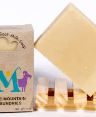 Warm, exotic, sensual, mysterious… those are just a few things that sandalwood makes me think of. I often reach for this one when grabbing a new soap for the shower.  Soaps made with milk have the pH closest to that of our own our skin, making it the most gentle of soaps. In its unique ability to moisturize, nourish and retain its goodness, goat milk is truly a pure and natural beauty aid. Goat milk soaps are often prescribed for people with skin conditions such as eczema and psoriasis.  INGREDIENTS: soap base (goat milk, olive oil, palm oil, coconut oil, soybean oil, palm kernel oil, sodium hydroxide), fragrance oil, cocoa powder for color