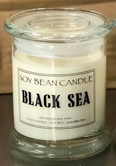 Orders with Black Sea will be shipped on or about July 10th! The sweet yet salty oceanic accords combine with an undercurrent of amber and vanilla. The fragrance is infused with natural essential oils, including cardamom seed oil and clove leaf oil.