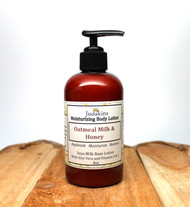 Oatmeal Milk and Honey is a relaxing soothing scent.  Soya Milk Base Lotion with Aloe Vera and Vitamin E & C.  Replenish, Moisturize and Restore!