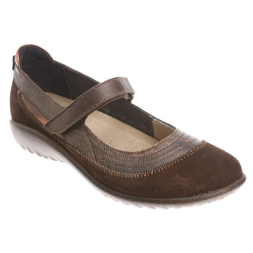 Naot Kirei Copper Cocoa Ladies Mary Janes Discount Naot