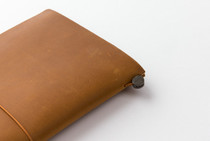 Traveler's Notebook in Camel | Camel Leather Cover and Starter Kit