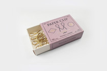 Housed in a matchbox style box, making these clips both portable and super handy.