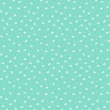Swirvy Aquamist Fabric