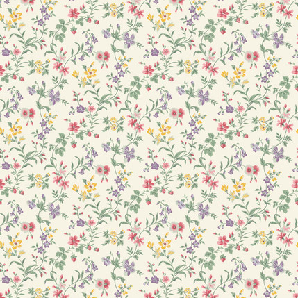 Sarah – Floral Fabric Collection (Spring)