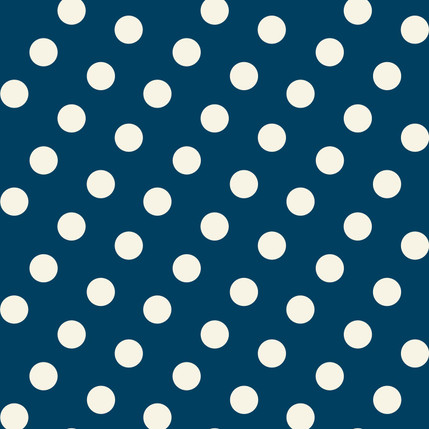 Dotly Fabric Design Collection (Cadet)