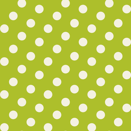 Dotly - Polka Dot Fabric Collection in Grass