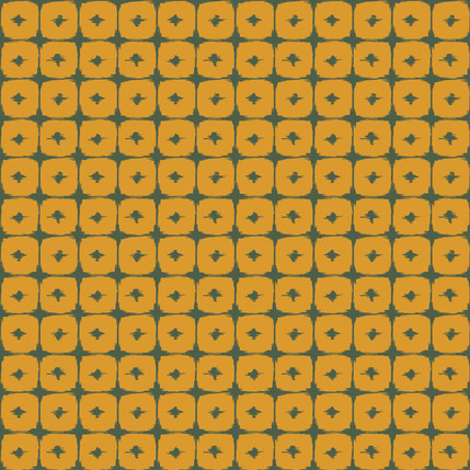 Boxed In - Geometric Fabric Design Collection (Butternut Color)