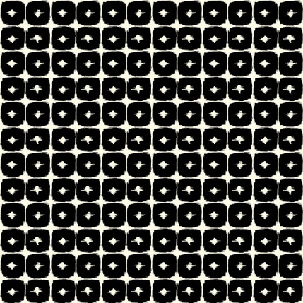 Boxed In - Geometric Fabric Design Collection (Domino)