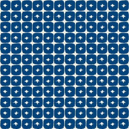 Boxed In Fabric Design Collection (Indigo)