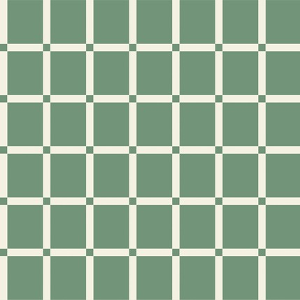 Checkers - Plaid Fabric Design Collection (Spruce Color)