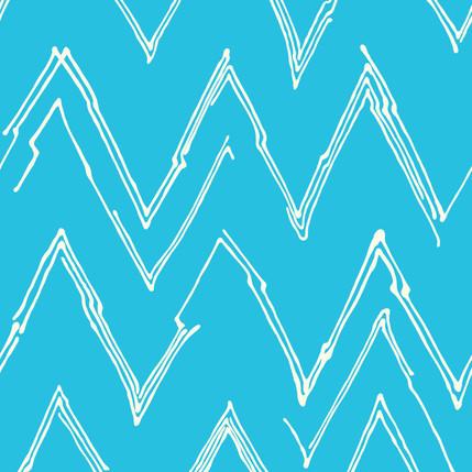 Peaks Fabric Design Collection (Aqua)