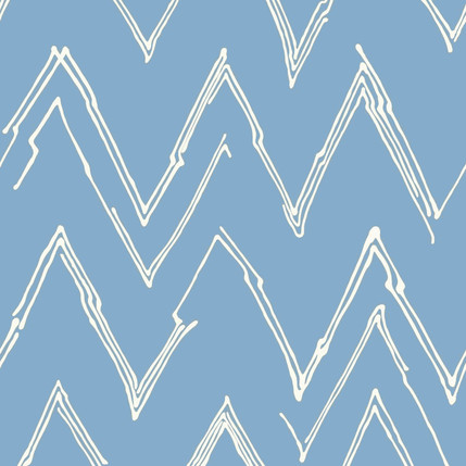 Peaks Fabric Design Collection (Blue Dust)