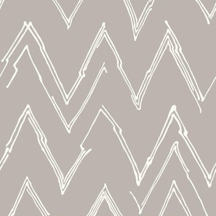Peaks - Abstract Fabric Design Collection (Putty)