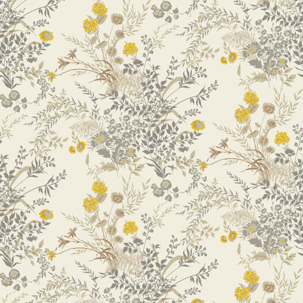 Perennial - Floral Fabric Design Collection (Doe)