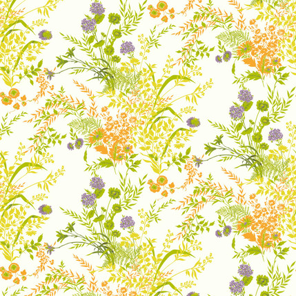Perennial - Floral Fabric Collection in Meadow