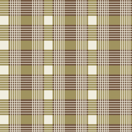 Windsor Plaid Grande Fabric Design (Khaki)