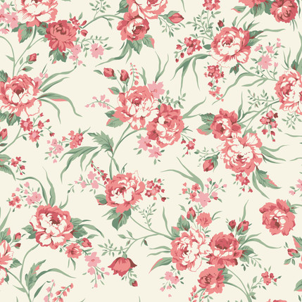 Hannah – Floral Fabric Collection (Blossom)
