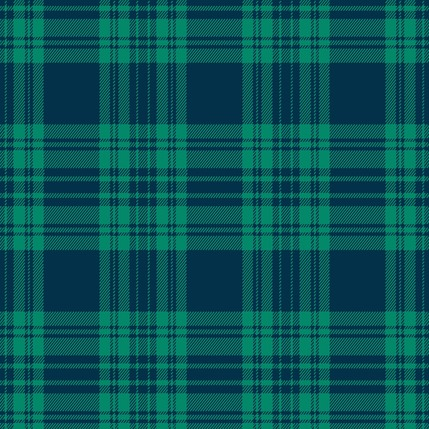 Kilt Fabric Design Collection (Lake)
