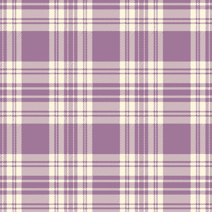 Kilt - Plaid Fabric Collection in Lilac