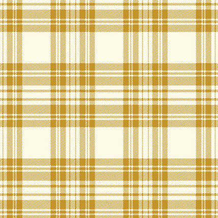 Kilt - Plaid Fabric Design Collection (Ochre)