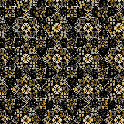 Pinwheel - Ethnic Fabric Design Collection (Granite)