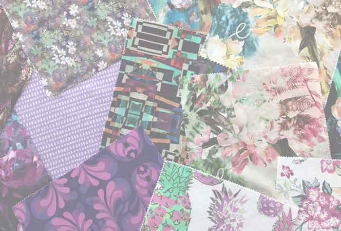 High quality fabrics printed on-demand in the designs, colors and quantities you choose.
