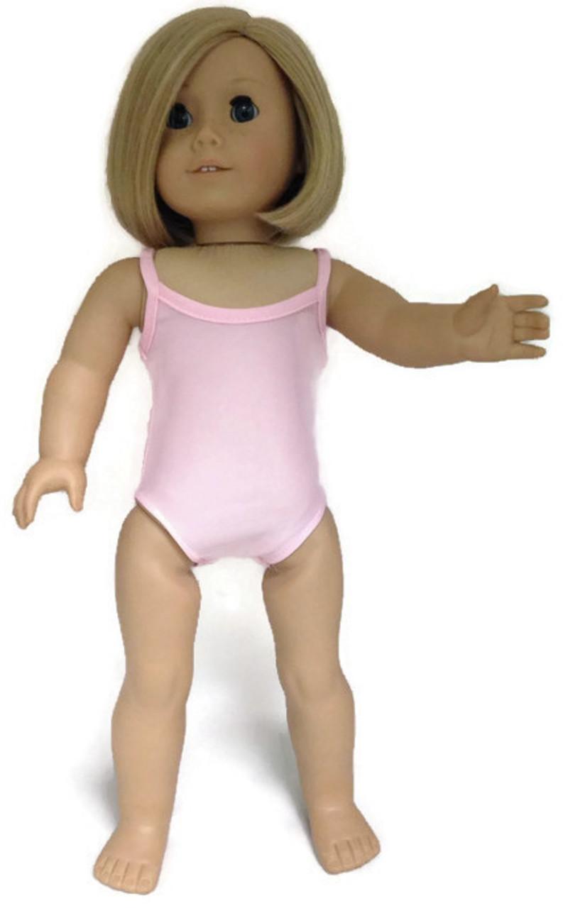 e7481c09f344 Sleeveless Leotard-Pink - Dori s Doll Boutique