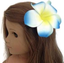 Hawaiian Hair Clip-Blue