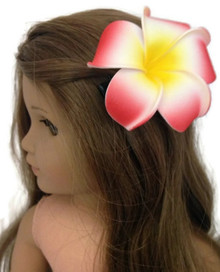 Hawaiian Hair Clip-Red