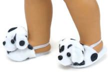 Dalmatian Mule Slippers