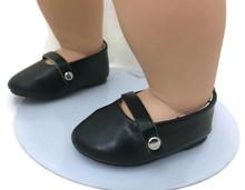 Dress Shoe Flats-Black