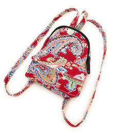 Paisley Mini Backpack by Sophia's-Red