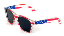 Sunglasses-Patriotic Flag
