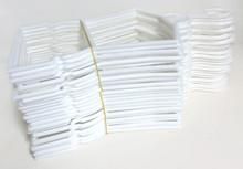 Hanger-White Plastic Outfit 2 Dozen