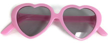 Sunglasses-Pink Heart