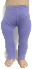 Knit Leggings-Lavender