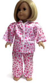 Heart Sating Pajamas-Pink