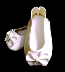 Bow Shoes-White