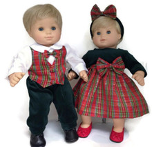 Boy & Girl Holiday Set
