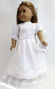 Wedding/Communion Gown, Veil, & Purse