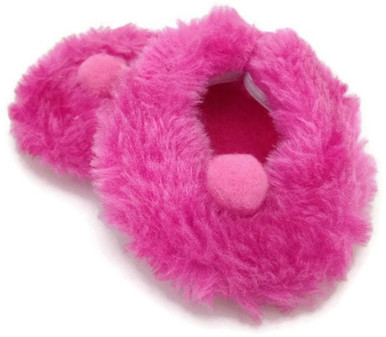 0aed7f3a03f6 Fuzzy Slippers-Hot Pink - Dori s Doll Boutique
