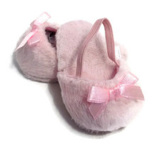 Mule Slippers with Bow-Pink