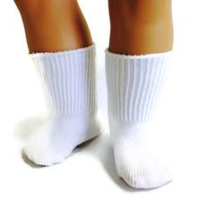 Knit Sport Socks-White
